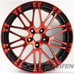 Oxigin 14 Oxrock Alufelge 8,5x19 ET40 5x120 red black rot schwarz /4