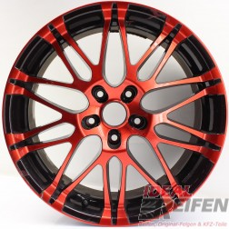 Oxigin 14 Oxrock Alufelge 8,5x19 ET40 5x120 red black rot schwarz /1