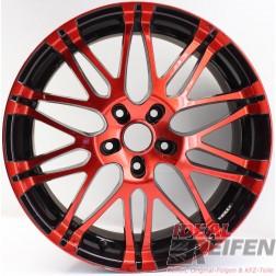 Oxigin 14 Oxrock Alufelge 8,5x19 ET40 5x120 red black rot schwarz /2
