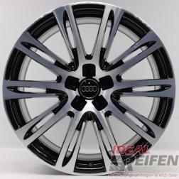 4 Original Audi A8 S8 F8 20 Zoll Alufelgen 9x20 ET37 Felgen 4HAG SG-P