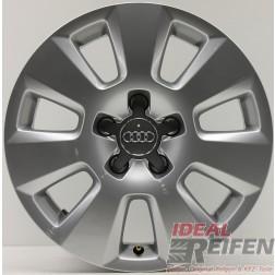 1 Original Audi A6 4G C7 16 Zoll 4G0601025 Alufelge Silber 7,5x16 ET37 EF977