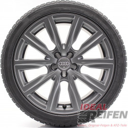 Original Audi A1 S1 8X 17 Zoll Winterräder Wintersatz 8X0601025AT 8X0601025AL TM