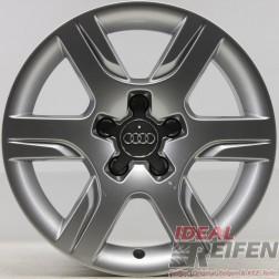 Original Audi A5 8T 16 Alufelge 8F0601025 Felge 7,5x16 ET28 EF315