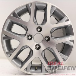 1 Original VW Polo Cross 5U7601025A 15 Zoll Alufelge 6R0601025F 6x15 ET38 EF7963