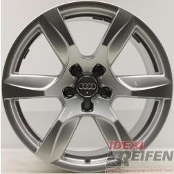4 Original Audi Alufelgen 420601025D 10,5x18 ET55 Felgen Traglast 565 KG 31832
