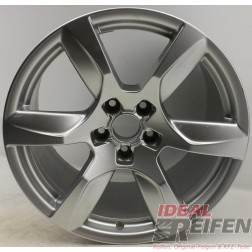 4 Original Audi Alufelgen 420601025D 10,5x18 ET55 Felgen Traglast 565 KG 31835