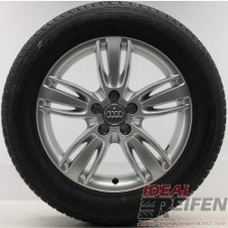4 Original Audi Q3 8U 17 Zoll Winterräder 8U0601025A 8U0601025P Wintersatz 17*