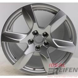 4 Original Audi Alufelgen 420601025D 10,5x18 ET55 Felgen Traglast 565 KG 31869