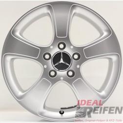 4 Original Mercedes A-Klasse A169 16 Zoll Alufelgen 6x16 ET46 A1694011002 NEU*