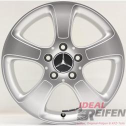 4 Original Mercedes B-Klasse A169 16 Zoll Felgen 6x16ET46 A1694011002 B66470820