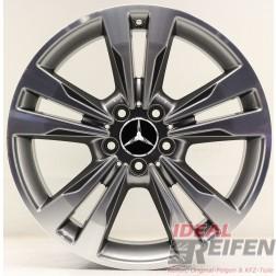 Original Mercedes Benz AMG C-Klasse W204 18 Zoll Alufelge A2044014202 8,5x18 ET54 /1