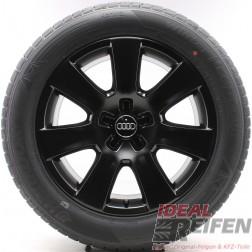 4 Original Audi A8 4H D4 18 Zoll Winterräder 4H0601025B Wintersatz Dunlop SSM
