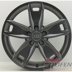 4 Original Audi A3 S3 8P 17 Zoll Alufelgen 6x17 ET48 8P0601025BN S-Line TM