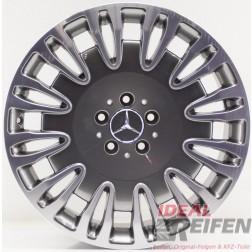 Original Mercedes Benz S-Klasse W222 19 Zoll Felge A2224010402 9,5x19 ET43,5 /2