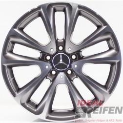 Original Mercedes Benz E-Klasse W213 18 Zoll Alufelge A2134010400 9x18 ET53 /2
