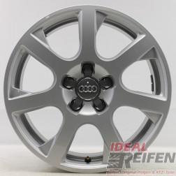 4 Original Audi Q5 8R 17 Zoll Alufelgen 8R0601025G 8x17 ET39 Felgen 31963
