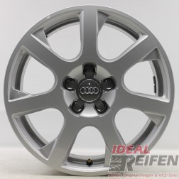 4 Original Audi Q5 8R 17 Zoll Alufelgen 8R0601025G 8x17 ET39 Felgen 31972