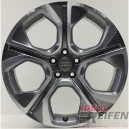 Original Audi A1 S1 8X 8X0071498 4EE Alufelgen 7,5x18 ET39,5 SLine BICOLOR