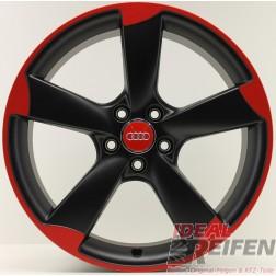 Original Audi A3 S3 RS3 19 Zoll Rotor Alufelge 8,5x19 ET53 Schwarz 8P0601025CN EF23