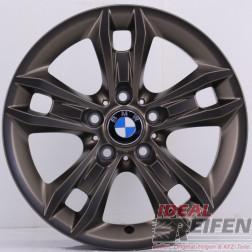 4 Original BMW X1 E84 Styling 319 Felgen 6789142-13 7,5x17 ET34 Bronze matt