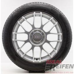4 Audi Q2 81A GA SUV 17 Zoll Winterräder Wintersatz Original Audi OEM NEW