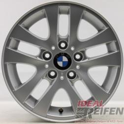 4 Original BMW 3er E90 E91 E92 Alufelgen 7x16 ET34 6775595 Styling 156 29709