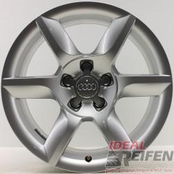 4 Original Audi A5 8T 8F B8 17 Zoll Alufelgen 8T0601025D 8x17 ET26 Felgen 30404