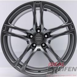 4 Original Audi R8 V8 V10 19 Zoll Alufelgen 8,5x19 ET42 +10,5x19 ET55 Titan glänzend