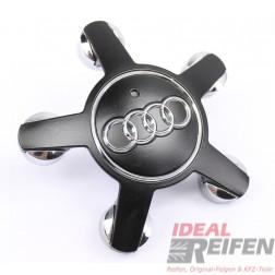 Original Audi A3 S3 8V Nabendeckel 4F0601165N SM für Felgen 8V0601025G