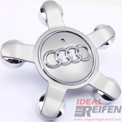 Original Audi A3 S3 8P Nabendeckel 8R0601165 TM Felgen Teile Nr. 8P0601025DM
