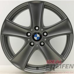 4 Original BMW X5 E70 Alufelgen Styling 209 8,5x18 ET46 6770200 Titan matt pulverbeschichtet