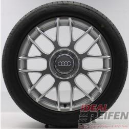 4 Original Audi A8 D2 4D Alufelgen Winterräder 225/55 R17 17 Zoll Hankook