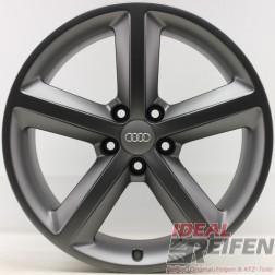 4 Original Audi A5 S5 8T 8F 18 Zoll Sline Alufelgen 8T0601025M 8,5x18 ET29 TM