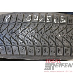2 Firestone Winterhawk 195/65 R15 95T DOT2007 5,5mm Winterreifen