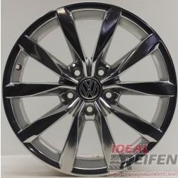 1 Original VW Golf 7 5G VII Dijon Alufelge 7x17 ET49 5G0601025BH Chrom EF3117
