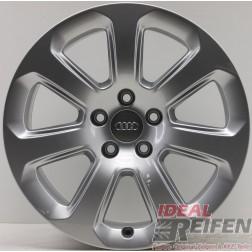 1 Original Audi A8 4H D4 17 Zoll Alufelge 4H0071497 7,5x17 ET26 Felge NEU EF3590