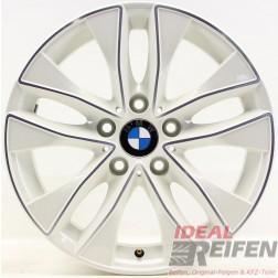 4 Original BMW 1er F20 F21 17 Zoll Alufelgen Styling 412 6850152 7,5x17 ET43 W