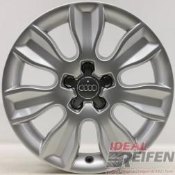 4 Original Audi A1 8X 16 Zoll 8X0601025AS Alufelgen Felgen 7x16 ET34 32126