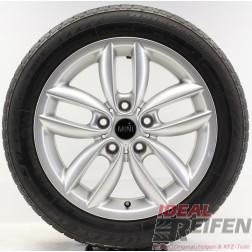 Original Mini R60 R61 Double Spoke Alufelgen Winterräder 7x17 ET50 9803723 A163