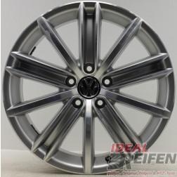 1 Original VW Tiguan 5N New York 7x18 ET43 Alufelge 5N0601025D 5N0601025AF /6
