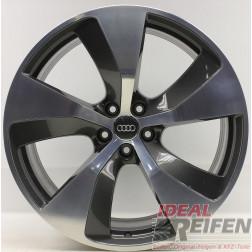 4 Original Audi Q7 4M Alufelgen 4M0601025E 9,5x21 ET31 S-Line Felgen WIE NEU
