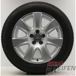 4 Original Audi A8 4H Winterräder 4H0601025B 7,5x18 ET26 Wintersatz Dunlop A42