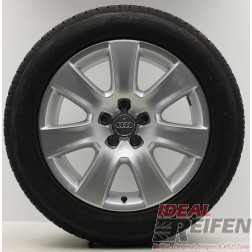 4 Original Audi A8 4H Winterräder 4H0601025B 7,5x18 ET26 Wintersatz IR902