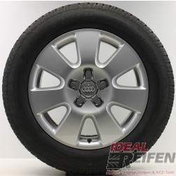 4 Original Audi Q7 4L Winterräder 4L0601025AF 7,5x18 ET53 Winter 2356018 18 Zoll