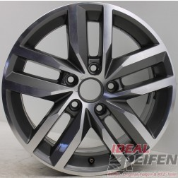 1 Original VW Golf 7 5G VII MADRID 6,5x16 ET50 5GG601025B Alufelge EF3529