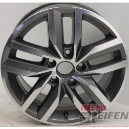1 Original VW Golf 7 5G VII MADRID 6,5x16 ET50 5GG601025B Alufelge EF3528