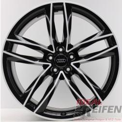 4 Original Audi RS6 C7 4G 4G0601025CE / CG / CF Schwarz Weiß 9,5x21 ET25 NEU