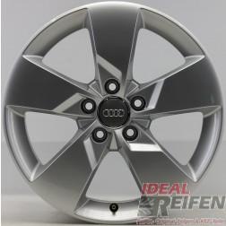 1 Original Audi TT TTS 8S Alufelge 8S0601025J 7x17 ET47 S-Line EF5150