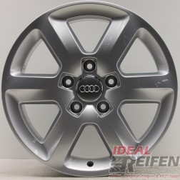 Original Audi Q7 4L 18 Zoll Alufelge 4L0601025BJ 4L0601025AG 8x18 ET56 EF3863