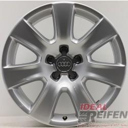 4 Audi A4 8W9 B9 Allroad 18 Zoll Alufelgen 7,5x18 ET26 Original Audi gebr.